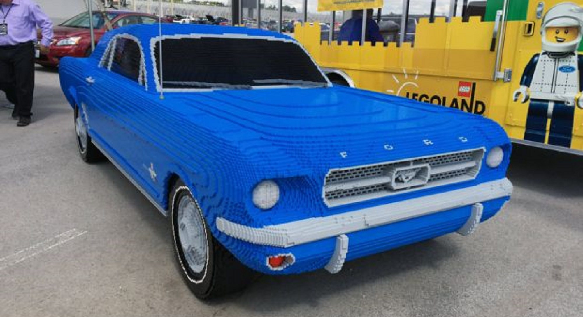 La Lego onora Ford Mustang, ecco foto e video